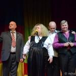 Постоянные участники передачи «Кривое зеркало» (13 октября 2012)