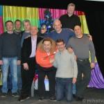 Постоянные участники передачи «Кривое зеркало» (2-8 января 2014)