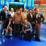 """Съёмки передачи """"Сто к одному"""" (17 февраля 2012)"""